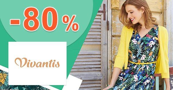 Výpredaj šiat so zľavami až do -80% na Vivantis.sk