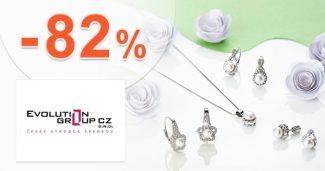 Výpredaj šperkov až do -82% na EvolutionGroup.sk