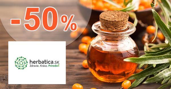 Výpredaj až -50% na Herbatica.sk