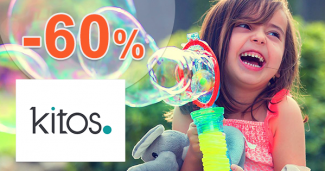 Výpredaj až -60% na Kitos.sk