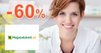 Výpredaj až -60% na MojaLekaren.sk