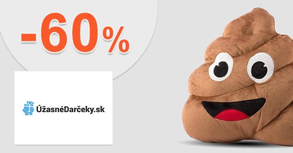 Výpredaj až -60% na UzasneDarceky.sk