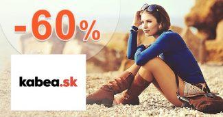 Výpredaj až -60% zľavy a akcie na Kabea.sk