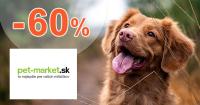 Výpredaj až -60% zľavy na Pet-market.sk