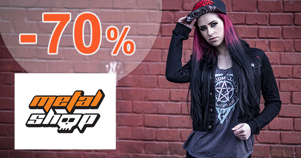 Výpredaj až -70% na MetalShop.sk