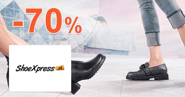 Výpredaj až -70% na Shoexpress.sk