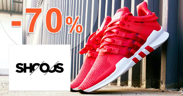 Výpredaj až -70% na Shooos.sk, akcia, zľava, kupón