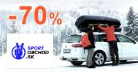 Výpredaj až -70% na SportObchod.sk