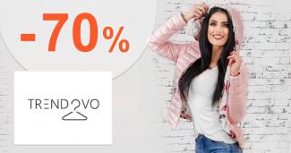 Výpredaj až -70% na Trendovo.sk + doprava ZDARMA