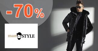 Výpredaj až -70% na manSTYLE.sk