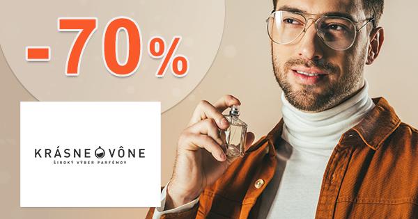 Výpredaj parfémov až -70% zľavy na KrasneVone.sk