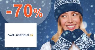 Akciový sortiment až -70% zľavy na Svet-svietidiel.sk