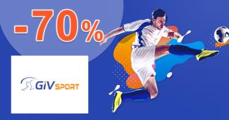 Výpredaj až -70% zľavy na GIVsport.sk