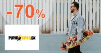 Výpredaj až -70% zľavy na PunkShop.sk