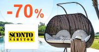 Výpredaj až -70% zľavy na nábytok na Sconto.sk