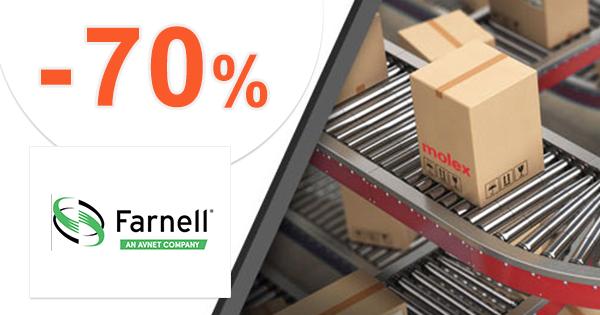 Výpredaj až -70% zľavy na sk.Farnell