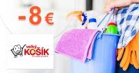 Výpredaj až -8€ zľavy a akcie na VelkyKosik.sk