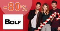 Výpredaj až -80% na Bolf.sk, kupón, akcia, zľava