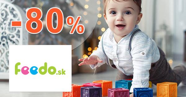 Výpredaj až -80% na Feedo.sk + doprava ZDARMA
