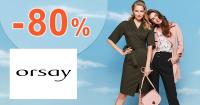 Výpredaj až -80% na Orsay.com