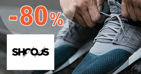 Výpredaj až -80% na Shooos.sk