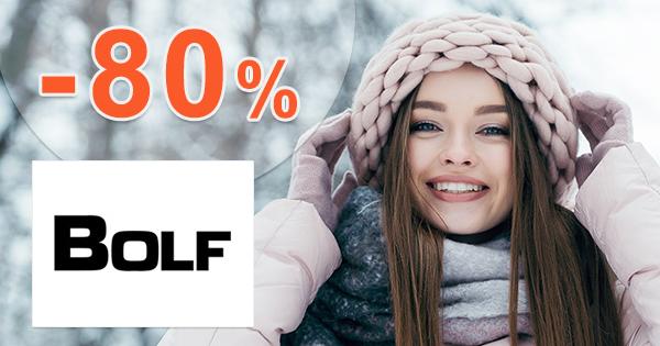 Výpredaj až -80% na dámsku módu na Bolf.sk