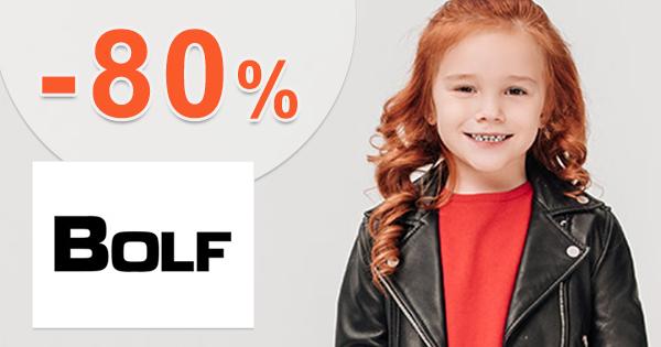 Výpredaj až -80% na detskú módu na Bolf.sk