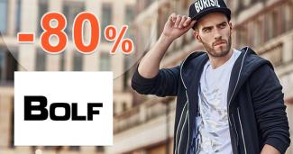 Výpredaj až -80% na pánsku módu na Bolf.sk