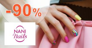 Výpredaj až -90% zľavy na NaniNails.sk