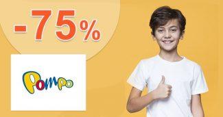 Výpredaj až do -75% zľavy a akcie na Pompo.sk