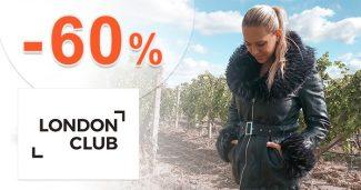 Výpredaj dámskej módy až -60% na LondonClub.sk
