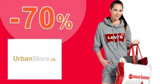 Výpredaj pre dievčatá až -70% na UrbanStore.sk