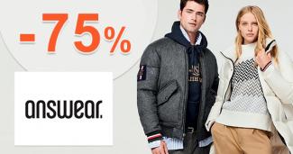Výpredaj pánskej módy až -75% na Answear.sk