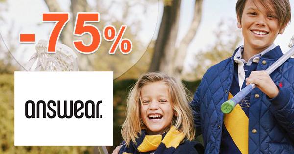 Výpredaj detskej módy až -75% na Answear.sk