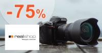Výpredaj elektroniky až -75% na RealShop.sk