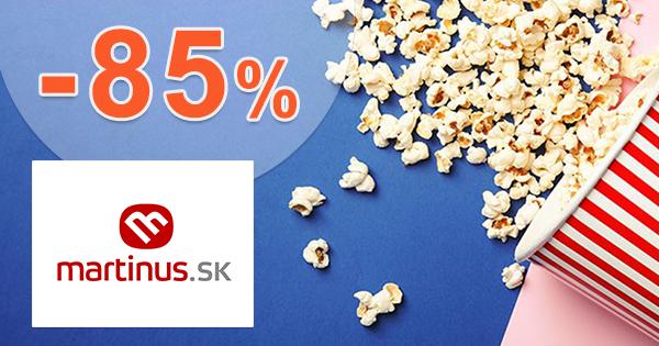 Výpredaj filmového skladu až -85% na Martinus.sk