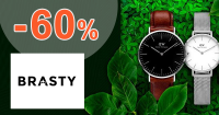 Výpredaj pánskych hodiniek až -60% na Brasty.sk