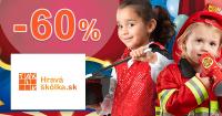 Výpredaj hračiek až -60% zľavy na HravaSkolka.sk