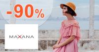 Výpredaj módy až -90% zľavy na Maxana.sk