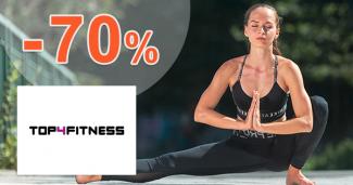 Výpredaj fitness oblečenia až -70% na Top4fitness.sk