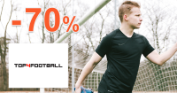 Sortiment pre voľný čas až -70% na Top4football.sk