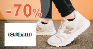 Výpredaj módy a tenisiek až -70% na Top4street.sk