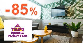 Výpredaj nábytku -85% zľavy na TempoNabytok.sk