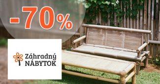 Záhradný nábytok až -70% na i-ZahradnyNabytok.sk