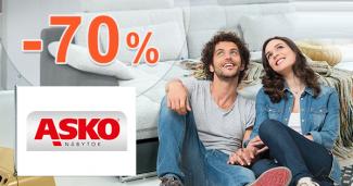 Výpredaj nábytku až -70% zľavy na ASKO-nabytok.sk