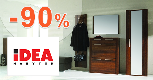 Výpredaj nábytku až -90% na IDEA-nabytok.sk