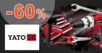 Výpredaj náradia až -60% zľavy na YatoNaradie.sk