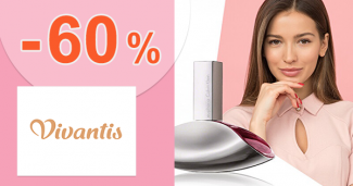 Výpredaj na dámske parfumy až -60% zľavy na Vivantis.sk