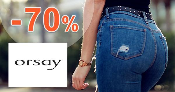 Výpredaj na džínsy až -70% zľavy na Orsay.sk