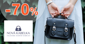 Výpredaj na kabelky až -70% na NovaKabelka.sk